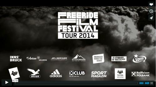 Freeride Filmfestival Trailer 2014