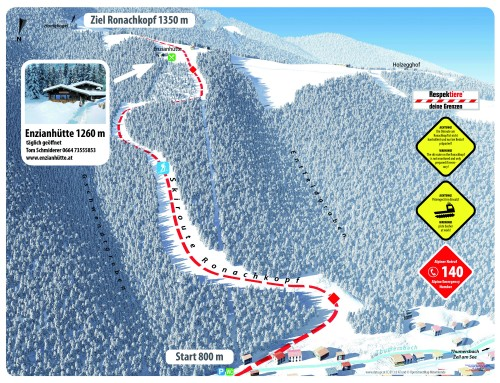 Skitour-Extra bei der Freeride Experience in Zell am See