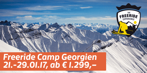 NEU IM PROGRAMM: Freeride Camp Georgien