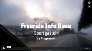Video zur Freeride Info Base in Sportgastein