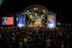 Campus Festival UNI Wien 2015 - die Festivalbühne