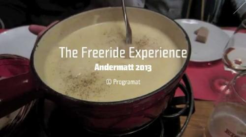 The Freeride Experience | Andermatt 2013