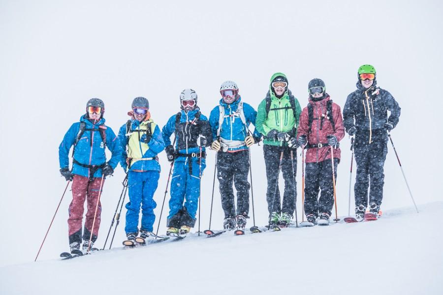Die Freeride Klasse vom Arlberg 2016! ;)