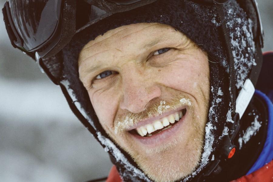 Björn Heregger, unser Chefguide in St. Anton am Arlberg! Er führt uns exklusiv zu seinen Lieblingsplätzen!