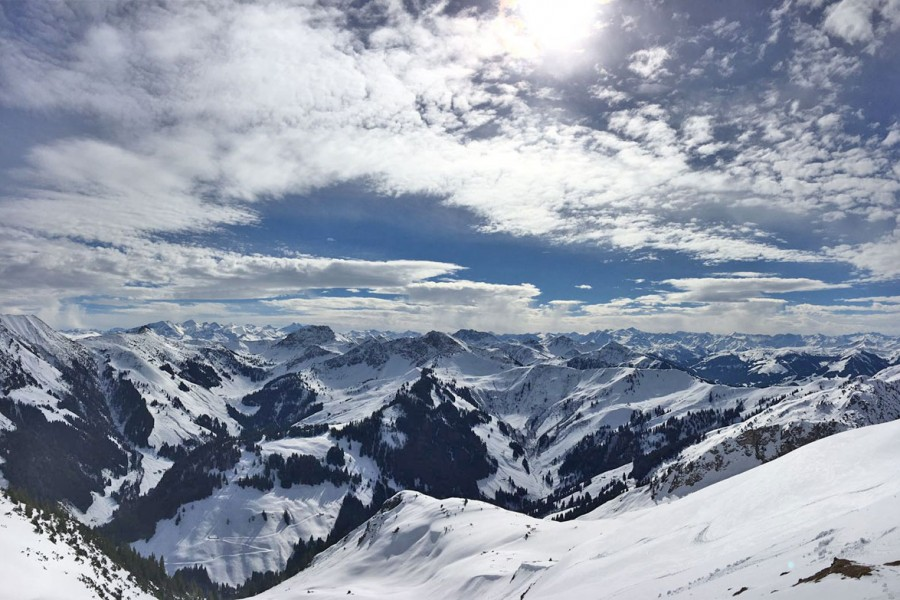 Splitboard Basic Camp Kitzbueheler Alpen