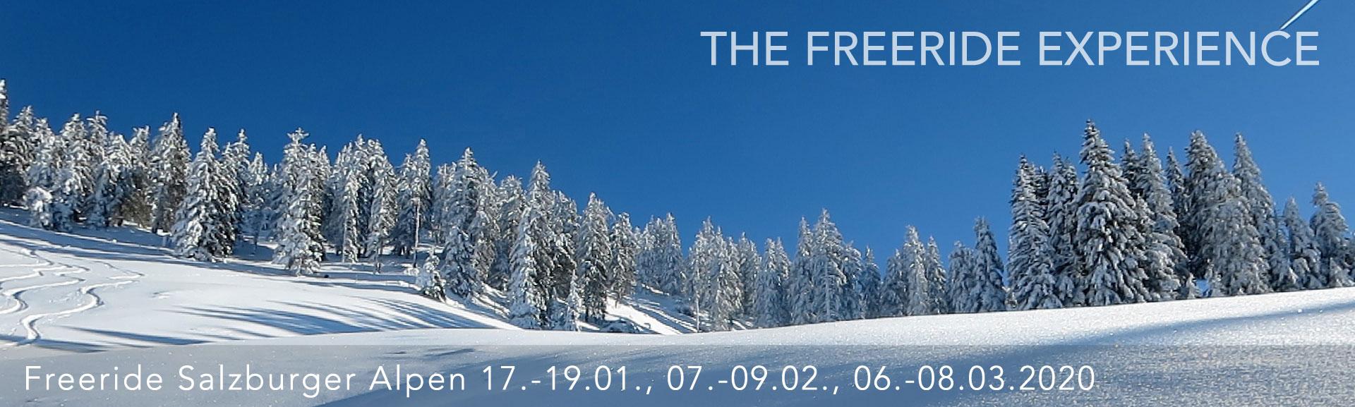 Freeriding Salzburger Alpen