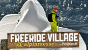 Freeride Village - ALpinmesse Innsbruck 2014 by Programat